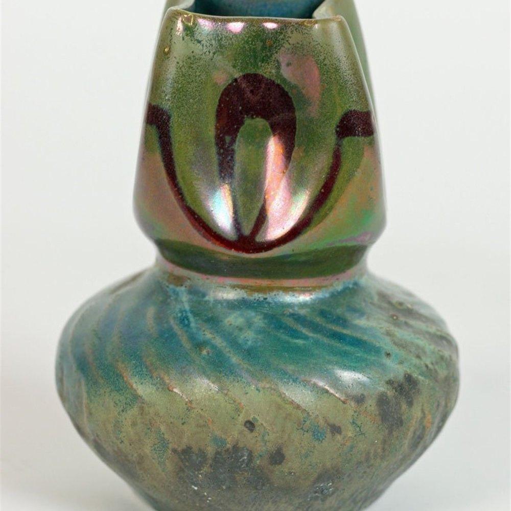 Dominique Zumbo Miniature Vase Circa 1900