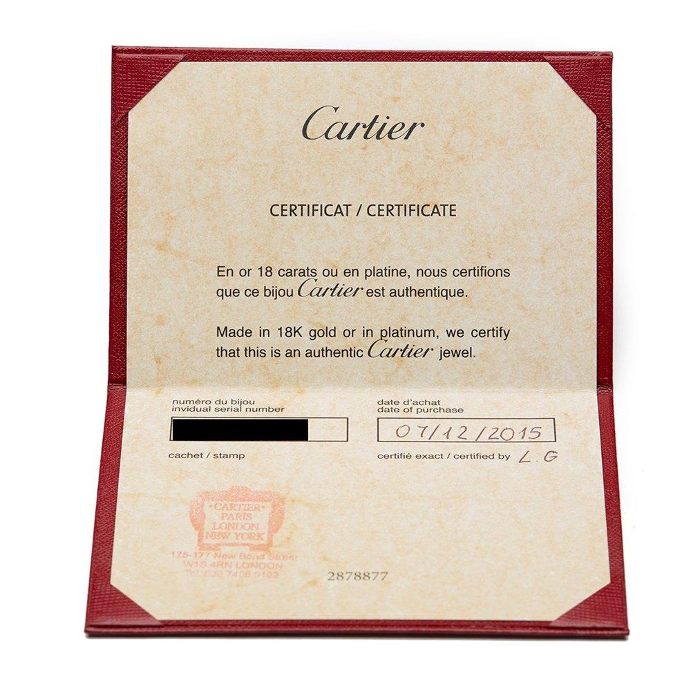 Cartier 18k Yellow Gold Tsavorite Garnet Panthère Bracelet