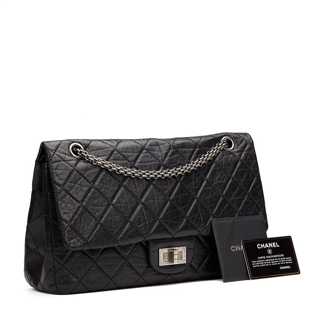 9585e4fe957d Chanel 2.55 Reissue 227 Double Flap Bag 2008 HB886 | Second Hand ...