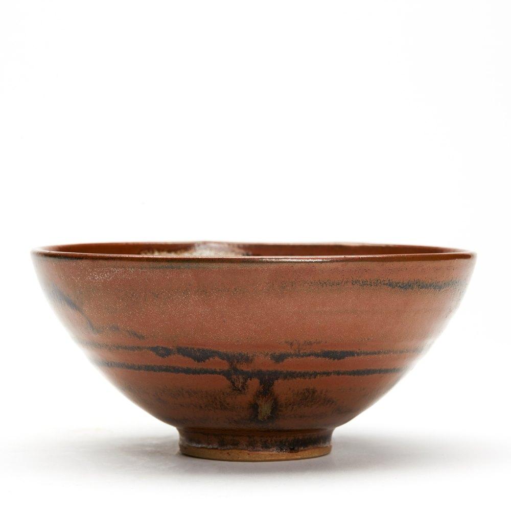 Ken Halsall Pottery Bowl C.1975 Circa 1975-82