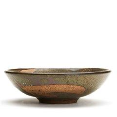 Vintage Studio Pottery Wax Resist Bowl Alan Ward 20th C.