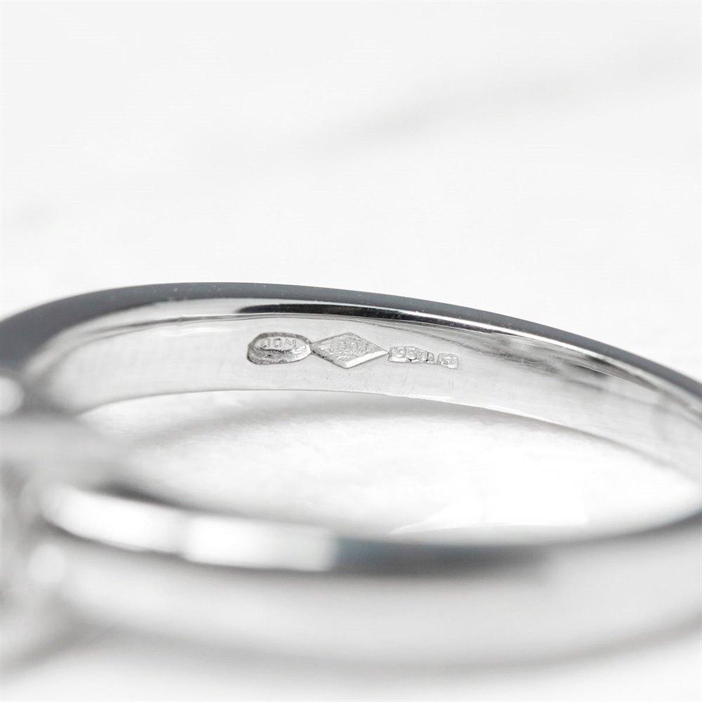 Diamond  Platinum Princess Cut 1.03ct Diamond Engagement Ring