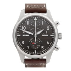 IWC Pilot's Perpetual Calendar 46mm Stainless Steel - IW379108