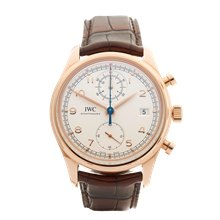 IWC Portuguese Chronograph 42mm 18K Rose Gold - IW390402