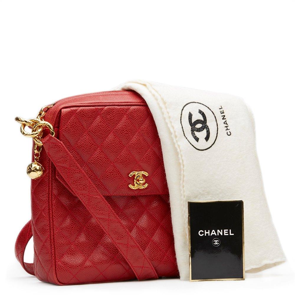 1f9246033c66d7 Chanel Tall Classic Camera Bag 1990's HB943   Second Hand Handbags