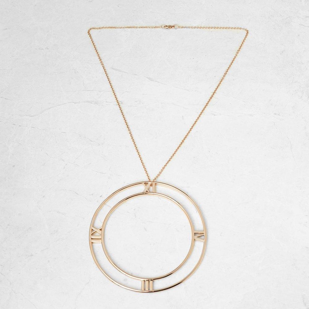 Tiffany & Co. 18k Rose Gold Large Atlas Necklace