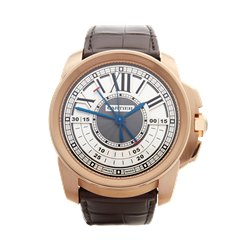 Cartier Calibre Central Chronograph 44mm 18K Rose Gold - 3242 or W7100004
