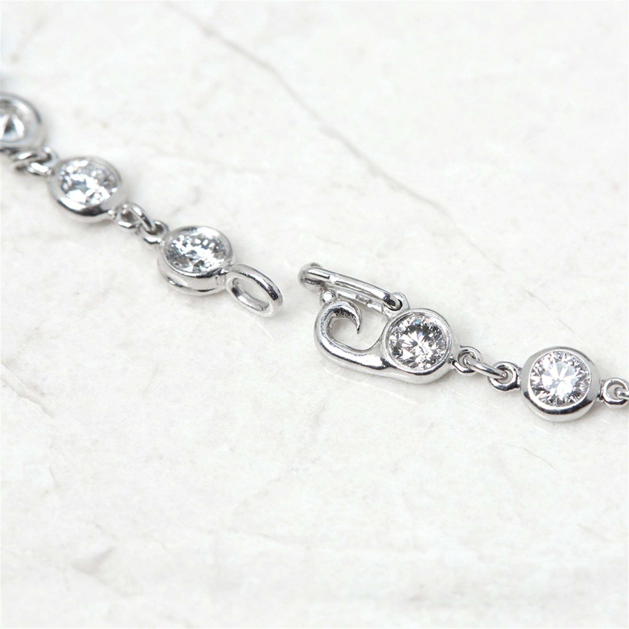 Tiffany & Co. Platinum Diamonds By The Yard Bracelet