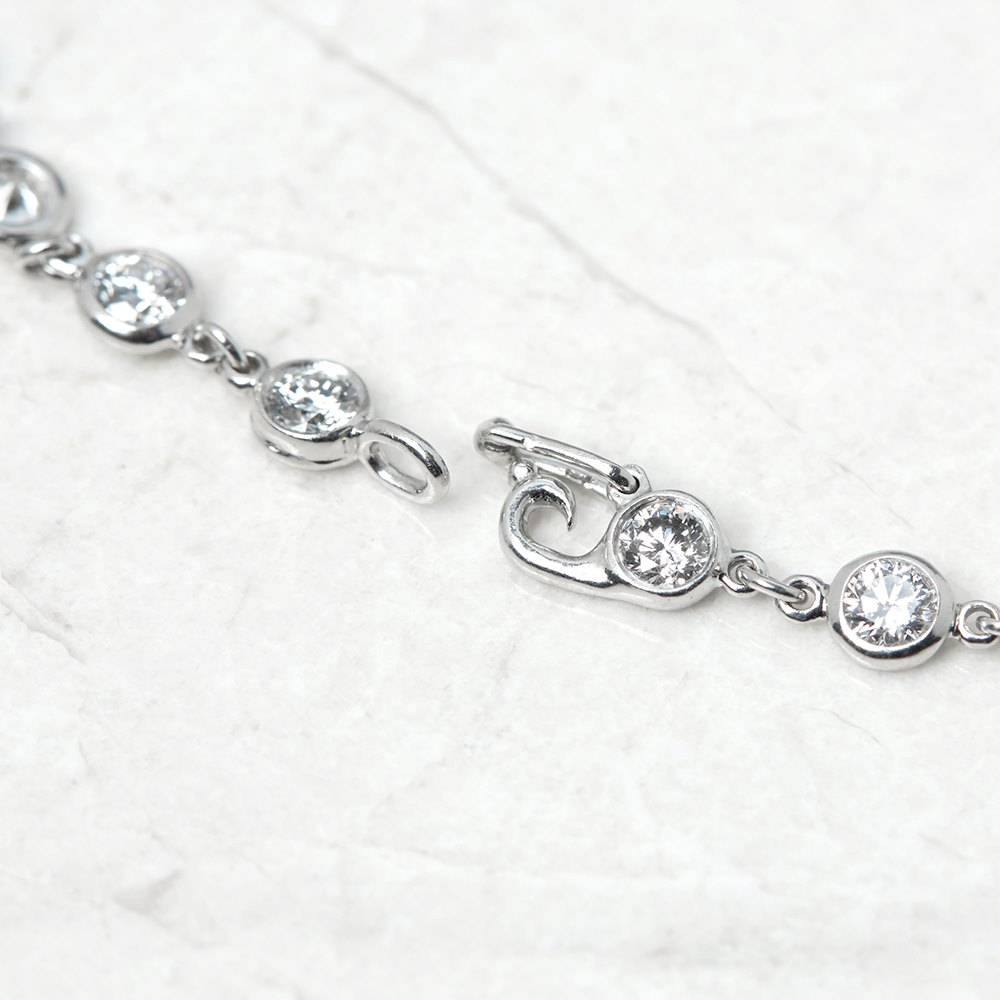 Tiffany & Co. Platinum Diamonds By The Yard Bracelet