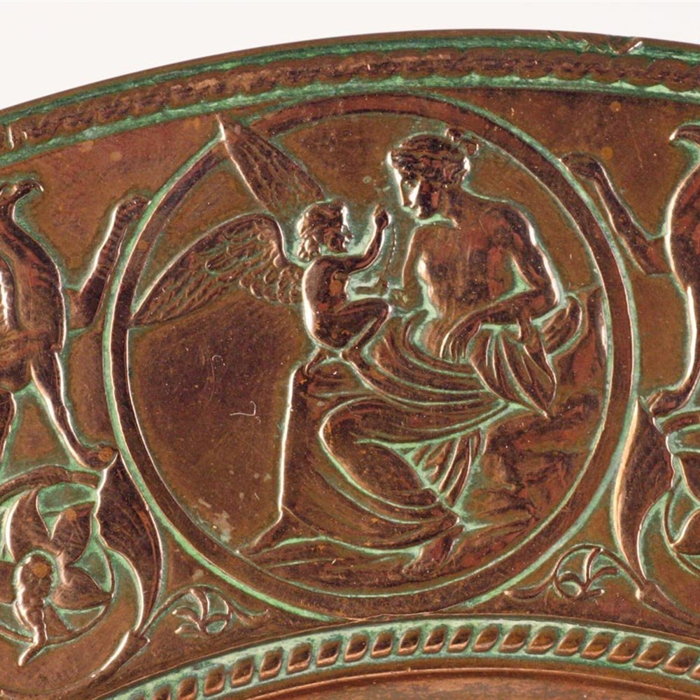 Italian Grand Tour Copper Dish Circa 1880