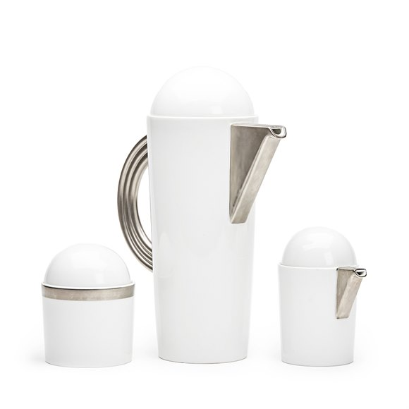 MARIO BELLINI ROSENTHAL STUDIO LINIE COFFEE SET c.1985
