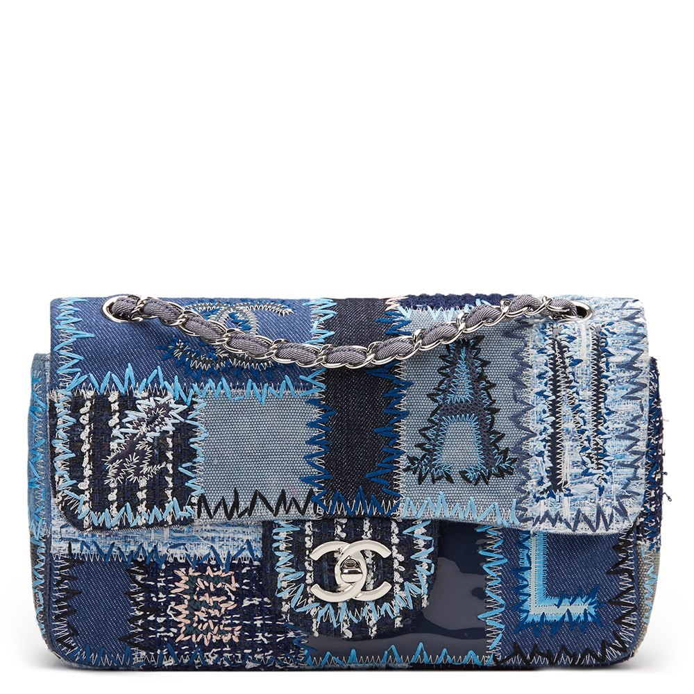 2f573ba0c9e9bc Chanel Patchwork Flap Bag 2015 HB973 | Second Hand Handbags | Xupes
