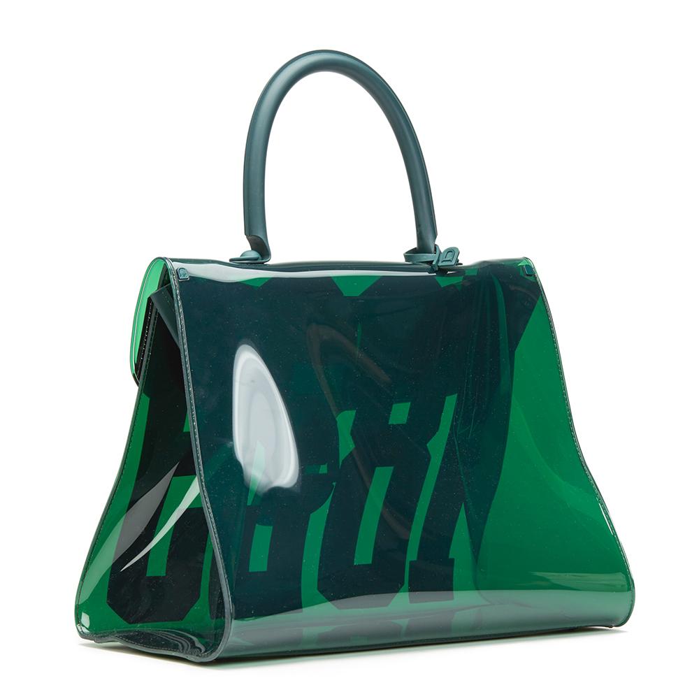 Delvaux Green Vinyl 1829 Bag AV93zrS