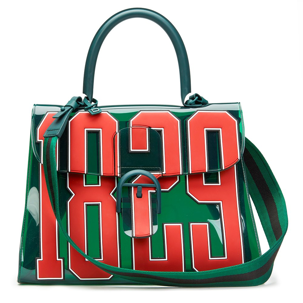 Delvaux Green Vinyl 1829 Bag f2bhUM