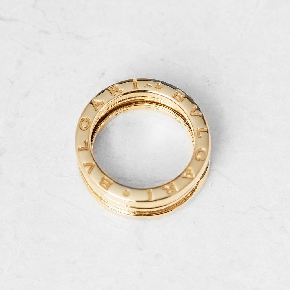 Bulgari 18k Yellow Gold B.Zero 1 Ring