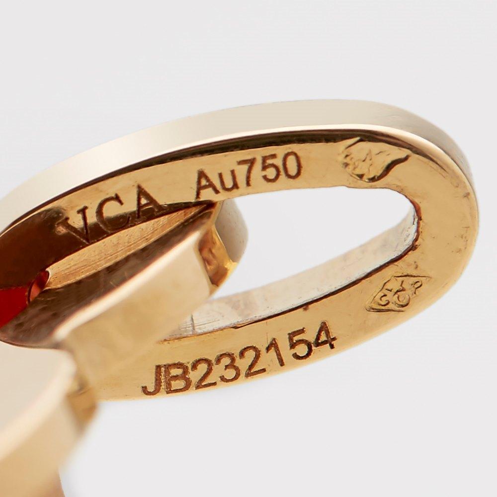 Van Cleef & Arpels 18k Yellow Gold Alhambra Necklace