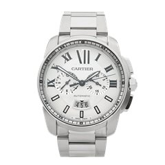 Cartier Calibre Chronograph 42mm Stainless Steel - 3578 or W7100045