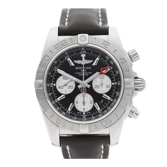 Breitling Chronomat GMT Chronograph Stainless Steel - AB042011