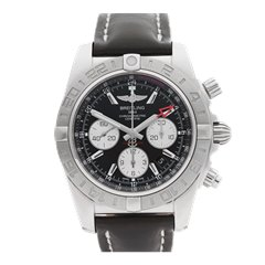 Breitling Chronomat GMT Chronograph 44mm Stainless Steel - AB042011
