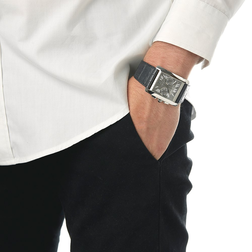 Cartier Tank MC Chronograph Stainless Steel W5330007 or 3666