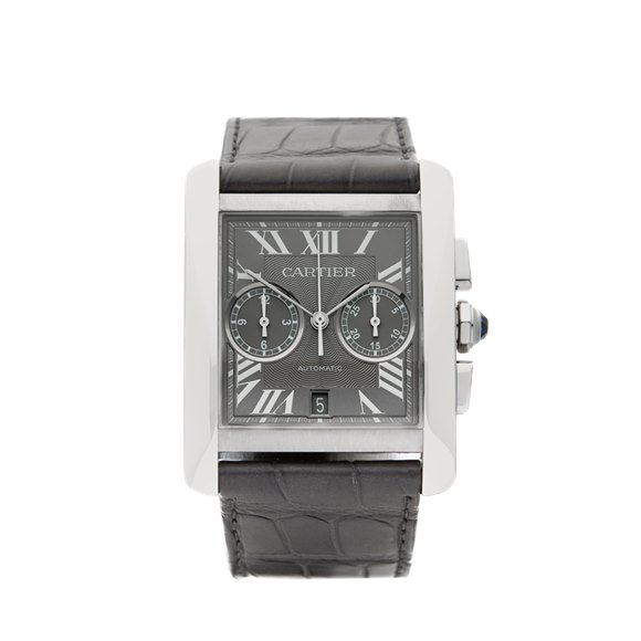 Cartier Tank MC Chronograph Stainless Steel - 3666 or W5330007