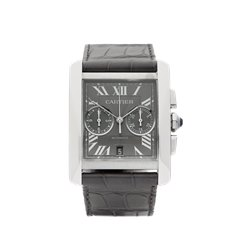 Cartier Tank MC Chronograph 34mm Stainless Steel - 3666 or W5330007