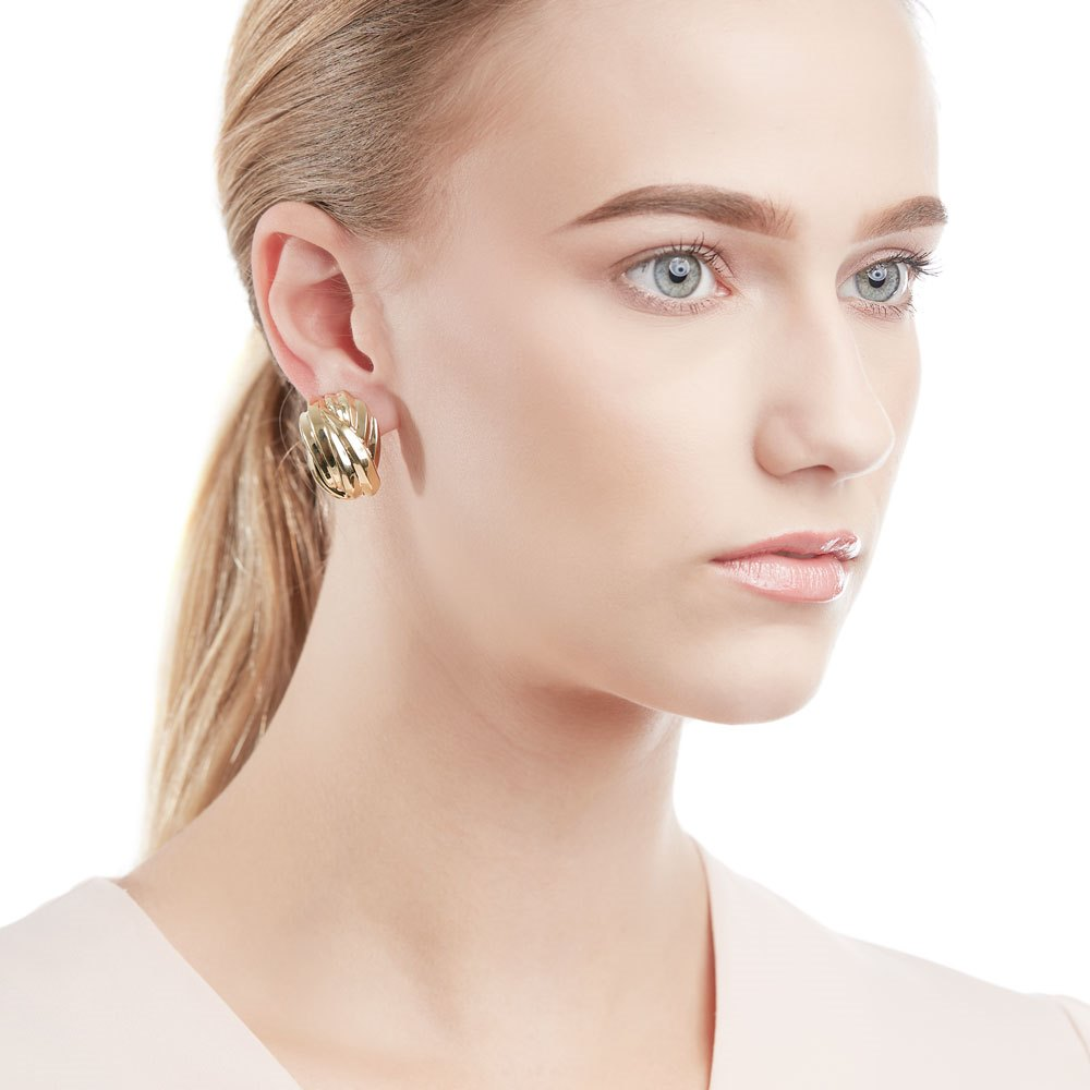 Tiffany & Co. 18k Yellow Gold Ear Clips