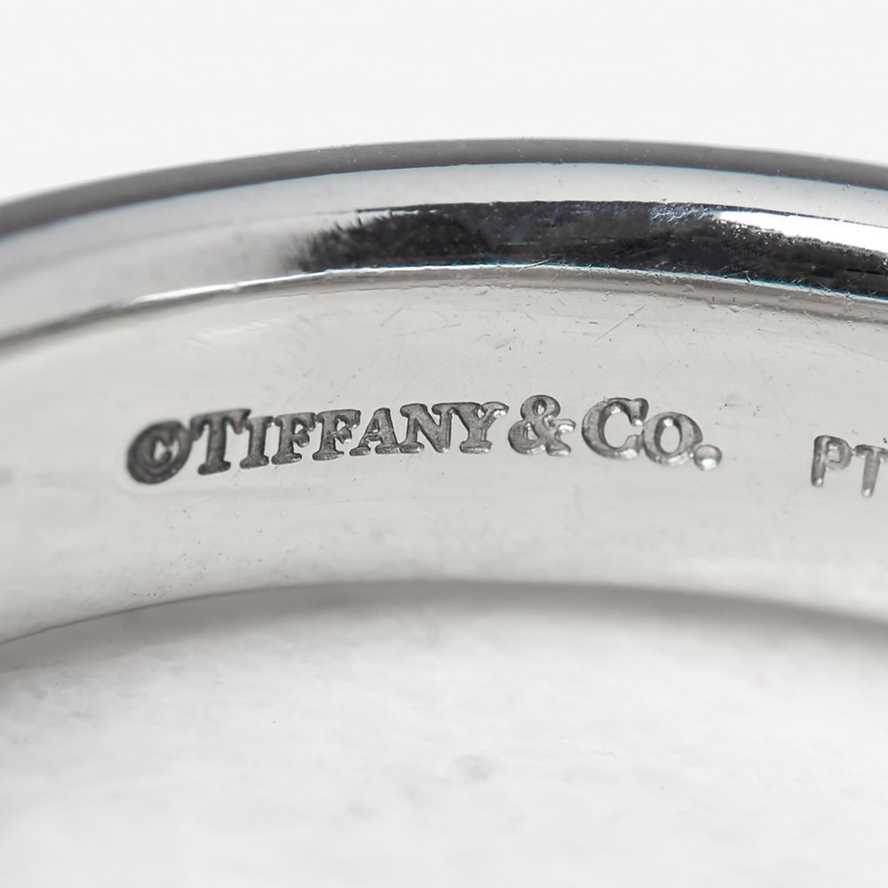 Tiffany & Co. Platinum 0.38ct Diamond Etoile Ring