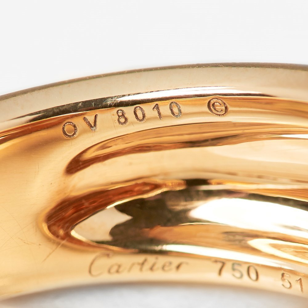 Cartier 18k Yellow Gold Panthére De Cartier Ring