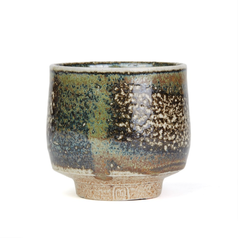 Micki Schloessingk Studio Pottery Yunomi 20th C Tc1704332
