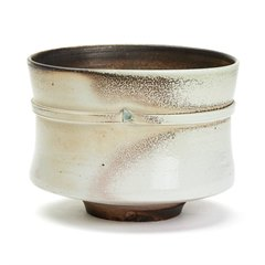 JACK DOHERTY STUDIO POTTERY PORCELAIN STRAPPED VESSEL