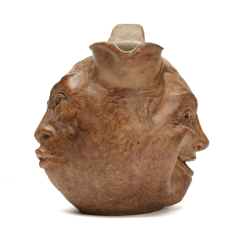 Martin Brothers Face Jug 1897 Dated January 1897