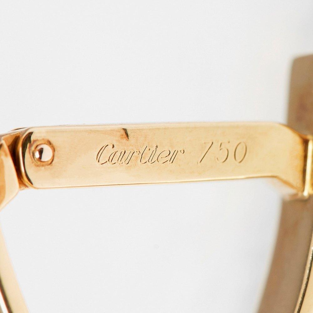 Cartier 18k Yellow Gold Love Cufflinks