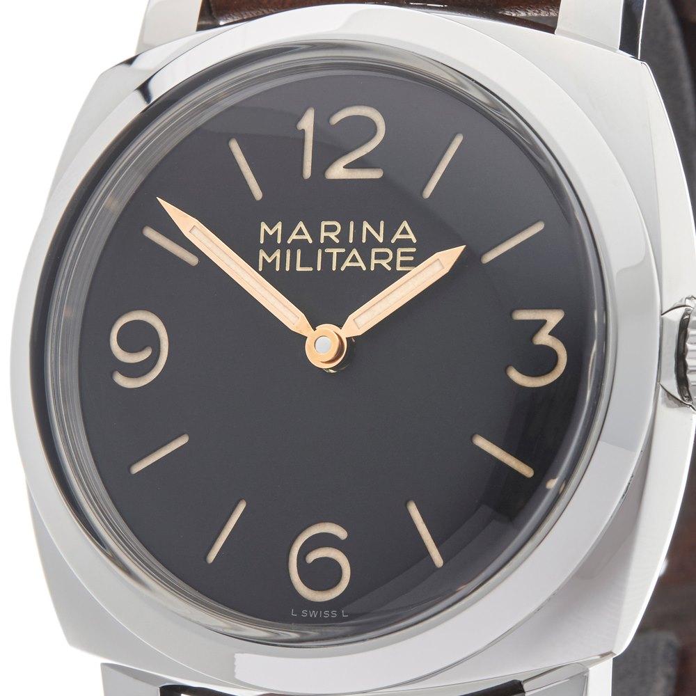 Panerai Radiomir Marina Militare Stainless Steel PAM00587