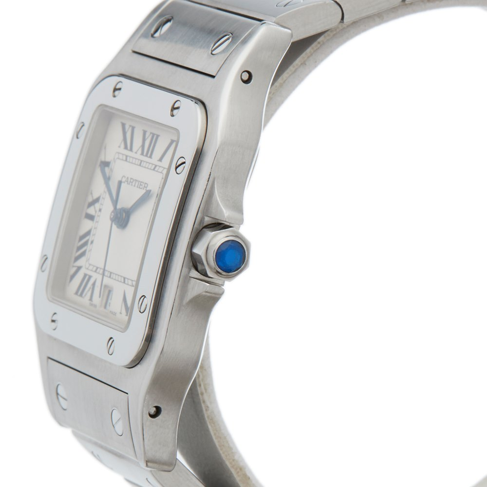 f173e834d1ac Cartier Santos Galbee Stainless Steel 1564 or W20018D6