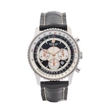 Breitling Montbrillant Chronograph 38mm Stainless Steel - A4137012/ B986