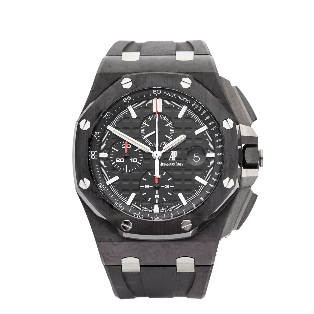Audemars piguet royal oak offshore 26400 au oo 2015 com1068 second hand watches for Royal oak offshore ceramic