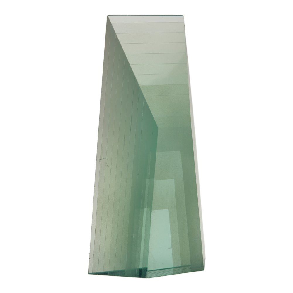 Zoltan Bohus Glass Sculpture 20th C. 20th Century