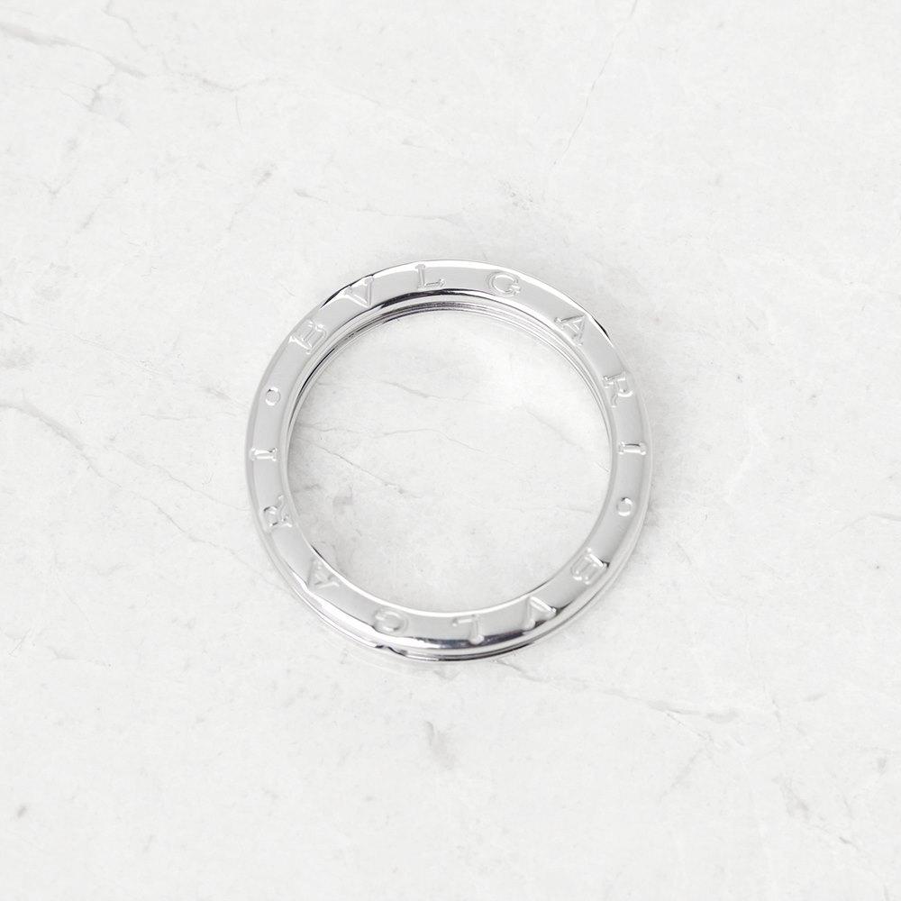 Bulgari 18k White Gold 1 Band B.Zero 1 Ring AN852423