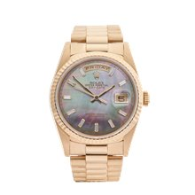 Rolex Day-Date 36mm 18K Yellow Gold - 18238