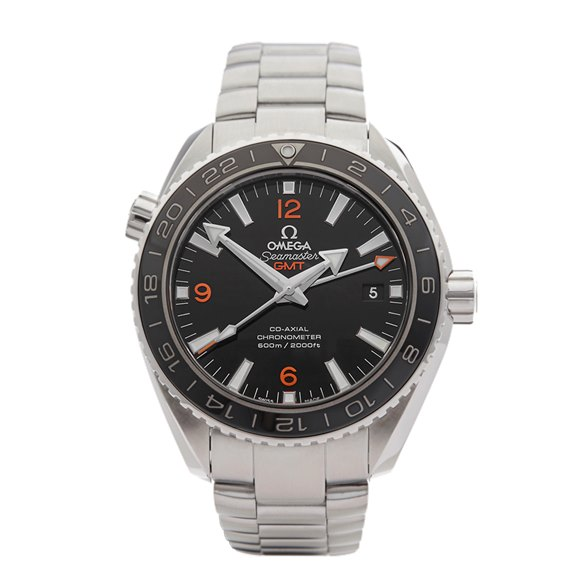 Omega Seamaster Planet Ocean Gmt Stainless Steel - 232.30.44.22.01.002