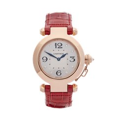 Cartier Pasha de Cartier 32mm 18K Rose Gold - 2812 or WJ11913G