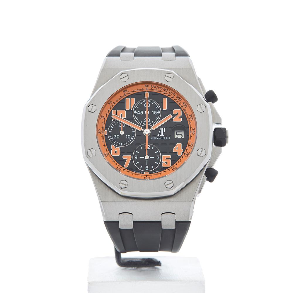 Audemars piguet royal oak offshore volcano chronograph 26170st watch w4095 ebay for Ap royal oak offshore chronograph