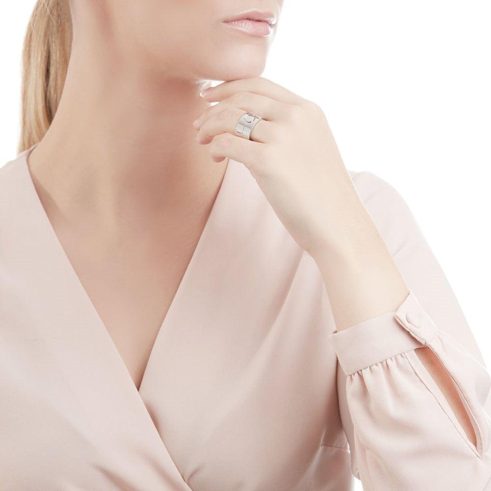 Cartier 18k White Gold High Love Ring