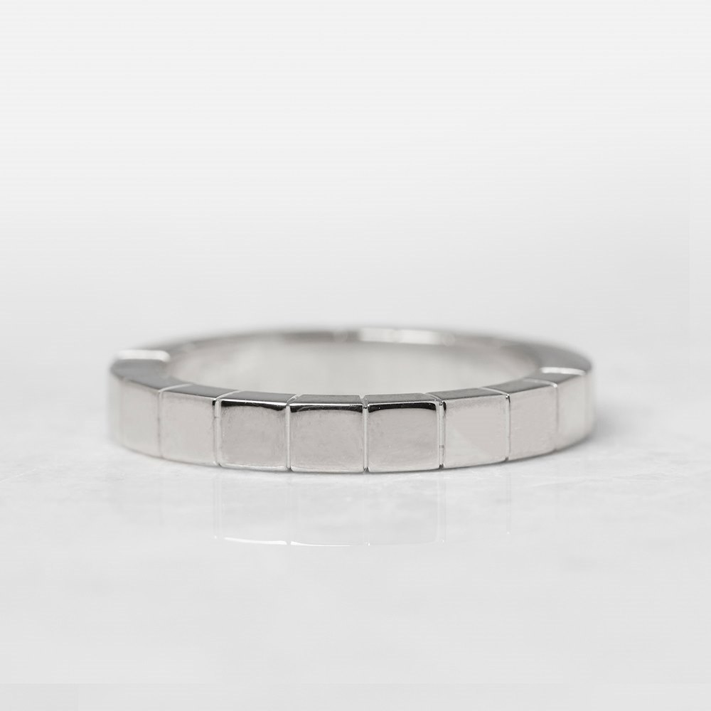 Cartier 18k White Gold Lanieres Ring