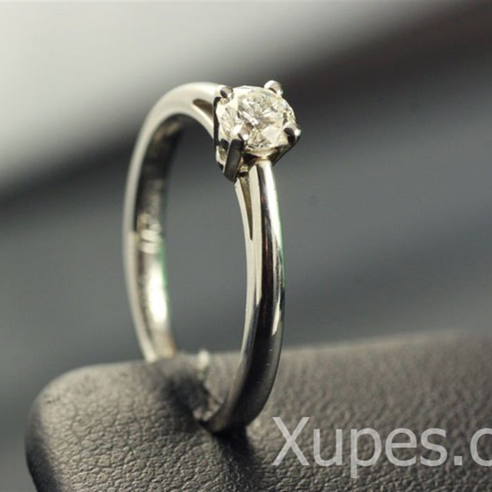Mappin & Webb Platinum Solitaire Diamond Ring
