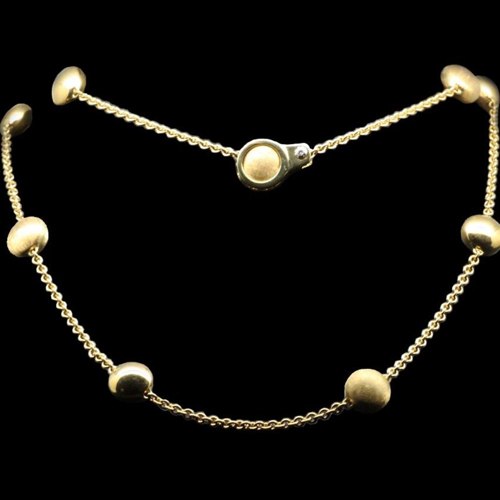 Chimento 18K Yellow Gold Sigilli Lariat Necklace
