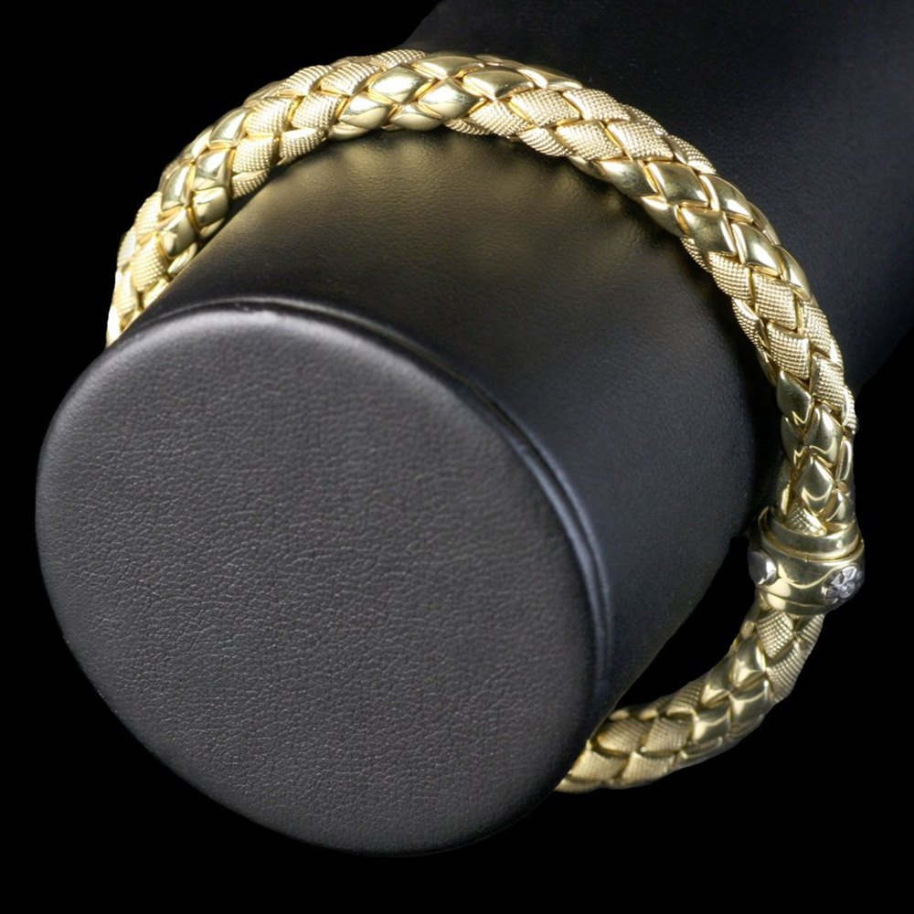 Chimento 18K Yellow Gold Stretch Bracelet