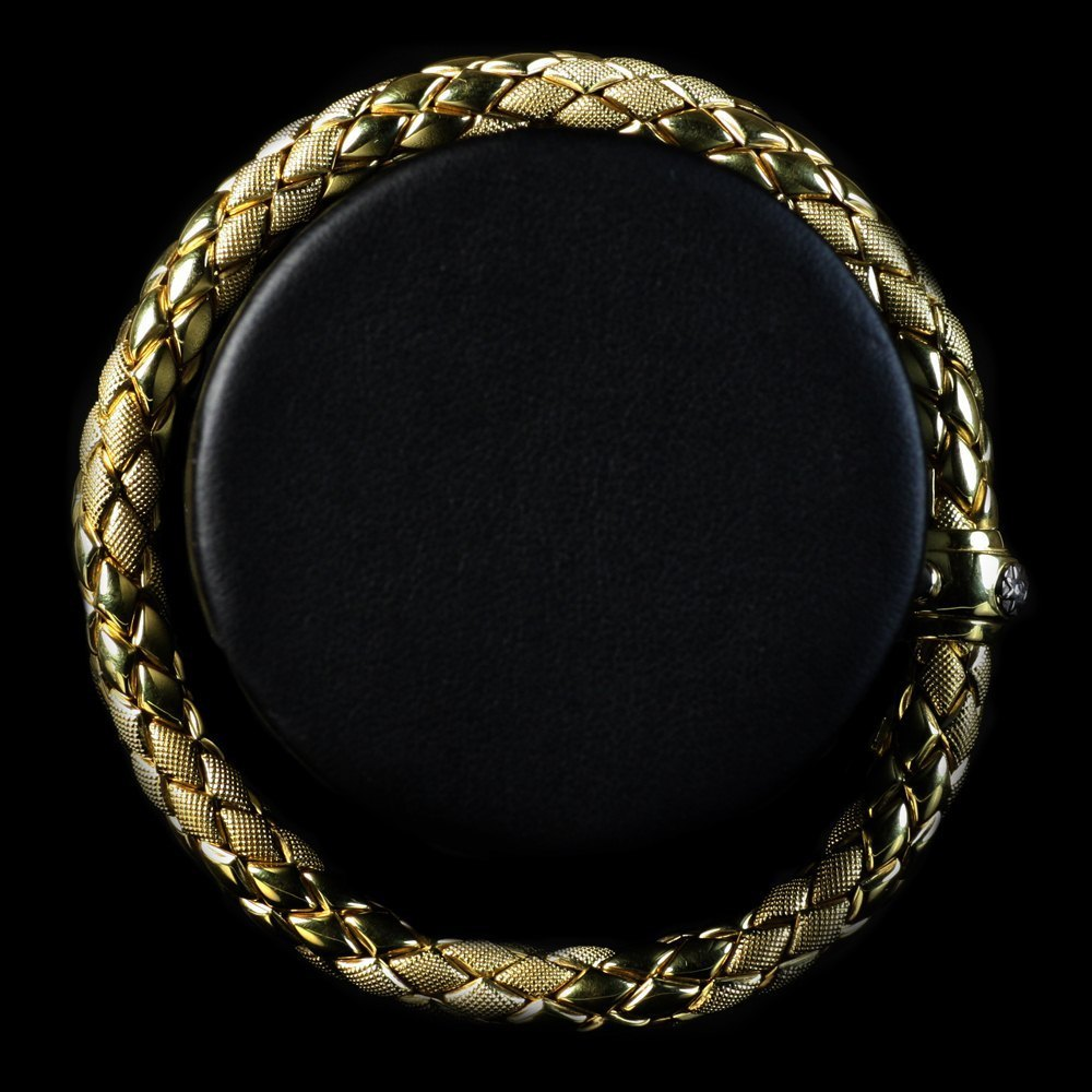 Chimento 18K Yellow Gold Stretch Bracelet