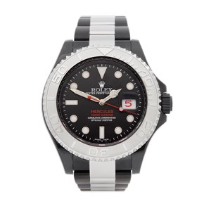 Rolex Yacht-Master Hercules Custom Dlc Coated Stainless Steel - 116622